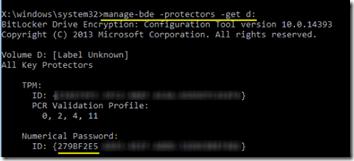 KB4505821 Bitlocker Error 07