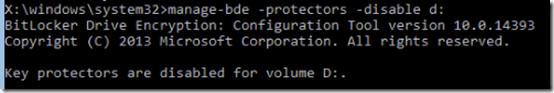 KB4505821 Bitlocker Error 09