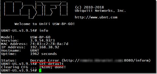 Decrypt error 1