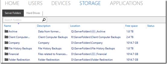 Server folders missing 2