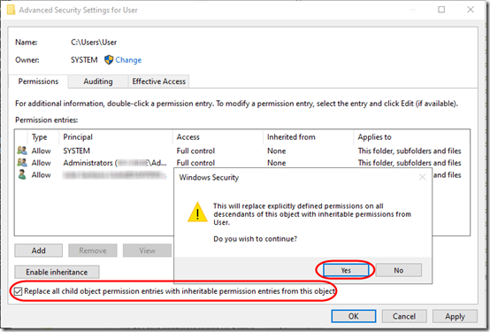 User Permissions 2