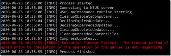 WSUS maintenance 5