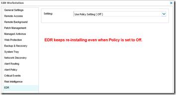 SolarWinds EDR 1
