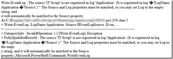 PowerShell Event Log 1