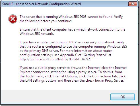 ConnectComputer Error