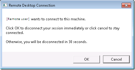your connection was interrupted windows 7