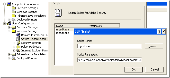 Adobe Security GPO